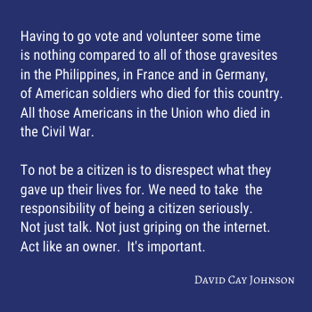 Quote by David Cay Johnson