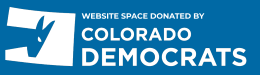 Website space donated by Colorado Democrats