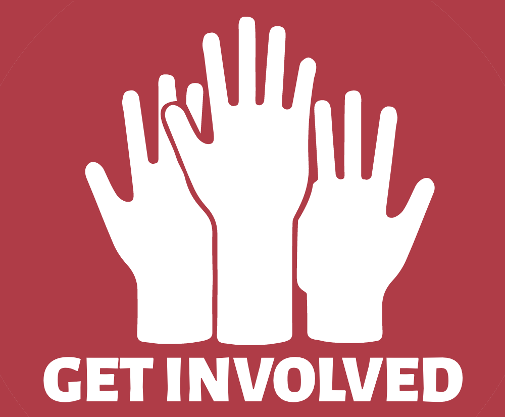 Get involved! The world is run by those who show up.